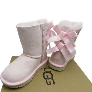 UGG Toddler Girl BAILEY BOW II Boots Sheepskin